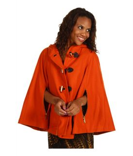 MICHAEL Michael Kors Toggle Front Hooded Melton Cape $269.99 $450.00