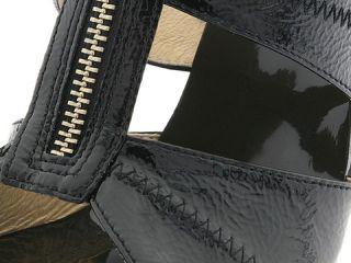 MICHAEL Michael Kors Berkley T Strap Black Patent