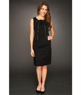calvin klein shift dress w zippers $ 119 50 new