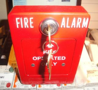 Aames Security Key Operated Fire Alarm Switch SP 1 KO