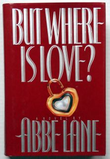 Abbe Lane signed But Where Is Love 1st Edition book autograph