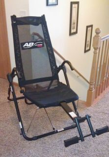 Ab Lounge Pro ~ Tony Little ~ Abdominal Excercise Chair