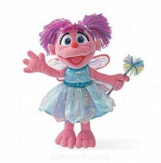 yookidoo gund sesame street 12 abby cadabby fairy plush new