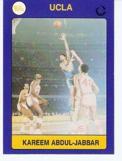 1991 Kareem Abdul Jabbar UCLA Bruins Card 33 La Lakers