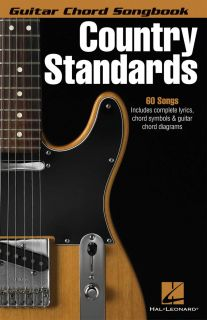 Country Standards Guitar Chord Songbook Lyrics Chord