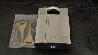 Genuine Abloy 362 High Security Hardened Boron Padlock