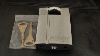 Genuine Abloy 362 High Security Hardened Boron Padlock