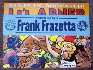 LiL Abner Dailies Vol 23 1957 SC w OBI 1st Al Capp Lil Abner Frazetta
