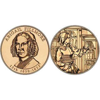 Abigail Fillmore Bronze Medal US Mint Velvet Case 2010