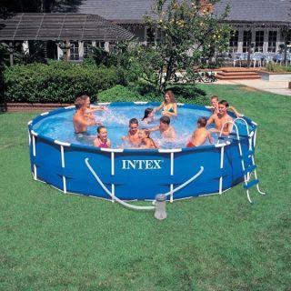 Intex Above Ground 15 x 48 Frame Set Swimming Pool