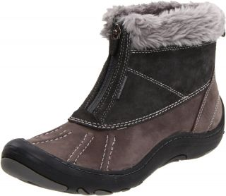Privo by Clarks Womens Centerline Waterproof Winter Boots Dark Grey