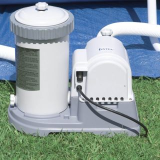 Intex 2500 GPH Above Ground Swimming Pool Pump Filter