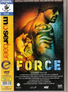 Force Bollywood Hindi DVD 2011 John Abraham Genelia DSouza