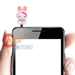 Sanrio Hello Kitty Phone Accessories Earphone Cap Topper 3