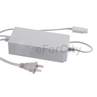 For Nintendo Wii USA AC Adapter Power Supply Cord Cable