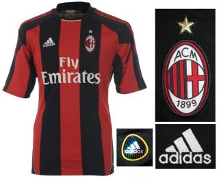 AC Milan Adidas Home Football Soccer Jersey Shirt Adults New Tags
