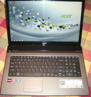 Acer Aspire AS7560 AMD A6 3400M Quad Core 1.4GHz 6GB 500GB 17.3, HDMI