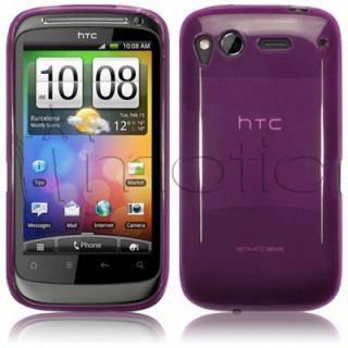 Funda Gel Goma Para HTC Desire s G12 Color Lila Morado ¡Oferta 2º