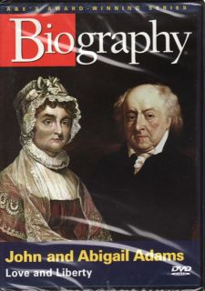 Biography John Abigail Adams Love and Liberty DVD 2005