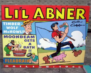 LiL Abner Dailies Vol 11 1945 SC 1st Al Capp Lil Abner
