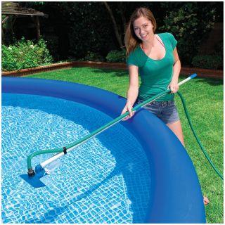Above Ground Swimming Pool Maintenance Cleaning Kit Vacuum Skimmer