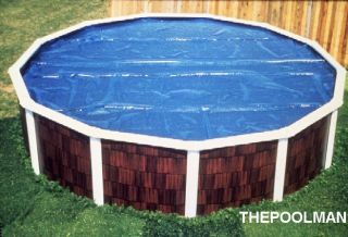 Round Above Ground Swimming Pool Solar Cover Blanket
