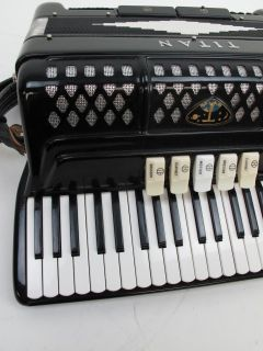Titano Titan Accordion with Case Made in Italy