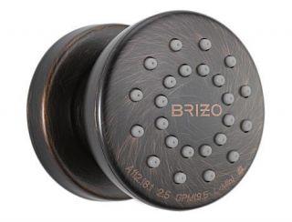 Brizo Sensori Traditional High Flow Custom Shower in Venetian Bronze