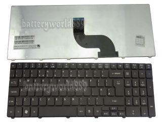 Keyboard Acer Aspire 8942 ID59 7551 5810 7735 UK English Teclado Black