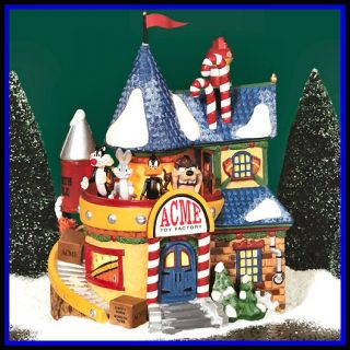 Acme Toy Factory FLAW North Pole Village Department Dept 56 NP D56