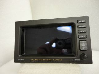 2000 Acura on 2000 01 02 03 Acura Tl Cl Navigation Display Screen Monitor System Gps
