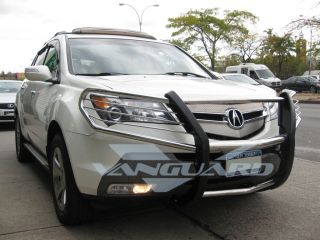 07 09 Acura MDX Chrome Front Brush Grill Guard Push Bar Bumper
