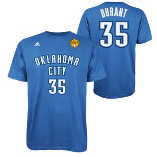 Official NBA Finals Adidas Kevin Durant Jersey T Shirt Oklahoma City