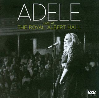 ADELE LIVE AT THE ROYAL ALBERT HALL DVD CLEAN DVD CD REGION FREE NEW