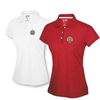 PGA Adidas ClimaLite Women Ladies Top Polo Golf Shirt s