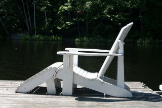 Adirondack Chair & Foot Stool Plans   FULL SIZE PAPER CUTOUTS