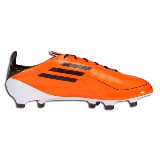 Adidas F50 Adizero TRX Boy Girl Kids Soccer Cleat Orange Blk Sz 5 5 US