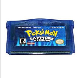 Games Pokemon Sapphire Gameboy Advance SP DS GBA Game Boy Games