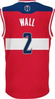 John Wall Jersey Adidas Red Replica 2 Washington Wizards Jersey