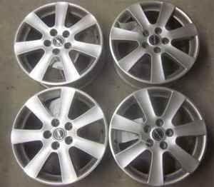 Aftermarket Borbet Set of 4 17 5 Lug Aluminum Wheels