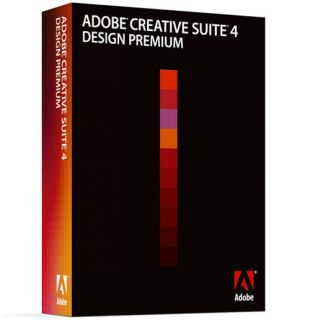 Adobe Creative Suite 4 CS4 Design Premium Windows
