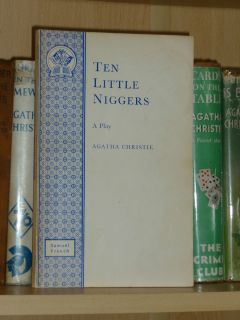 Agatha Christie Ten Little Niggers A Play Samuel French