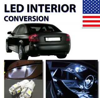 Agt™ Xenon White Interior LED Package Kit for Audi A4 2002 2004 B6