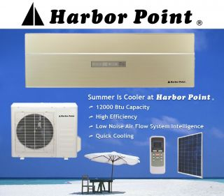 12000 BTU Solar Air Conditioner Heat Pump Ductless Mini