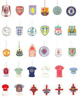 Official Merchandise Car Accessories Air Freshener Football Gifts