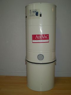 Complete Central Vacuum System M s Air Vac 2500 Used