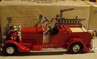 Ertl 1937 Ahrens Fox Fire Truck Bank