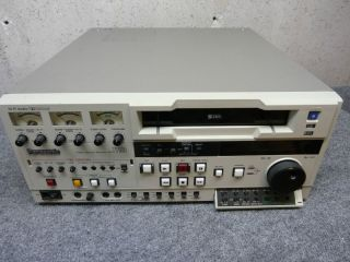SHIPPING PANASONIC PROFESSIONAL AG 7750 S VHS DOLBY RECORD AND EDIT