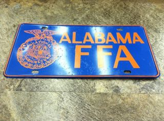 Vocational Agriculture Alabama FFA Farm Metal Tin Auto Car Truck Sign