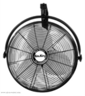 9020 Air King Industrial 20 inch Wall Mount Fan with Bracket High